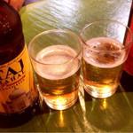 マドラスキッチン - インドビール