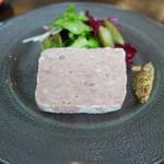 ラ ジルエット - 桃豚の豚肉の田舎風パテ