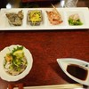 富士見園 - 料理写真:富士見園@大三島 前菜とオニオコゼのザク