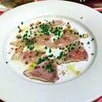 ナポリの下町食堂 - 季節のカルパッチョ