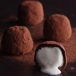 ミセスニューヨーク - 料理写真:半熟生クリームショコラ