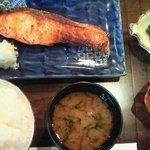 義 - 銀鮭味噌漬焼 1000円