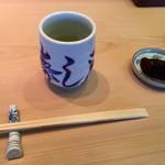 寿し辰 - お茶