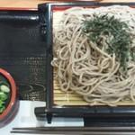つるつる - 料理写真:ざるそば(麺大盛)