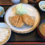 かつ星 - 料理写真:ヒレかつ定食 130g  1706円