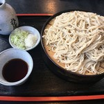 松葉屋 そば店 - 料理写真:もり蕎麦大盛り