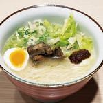金菜亭 - 博多鶏そば「はかたんめん®︎」白辛