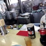 万里 - 厨房がよく見えます