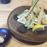 72119465 - 野菜天ぷら盛り合わせ 1000円