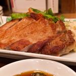 キッチン 中田中 - セットの豚てき