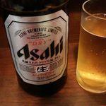 72120824 - 中瓶ビール 572円 2017年8月