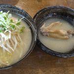 鶏そば屋 天頂 - ラーメン天頂(岡崎市)食彩品館.jp撮影