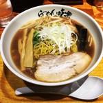 利尻らーめん味楽 - 焼き醤油ラーメン(900円)