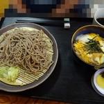 72123501 - 玉丼そばセット800円