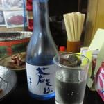 一升びん - 冷酒(300ml) 820円 (2017.8)