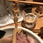 中華蕎麦 蘭鋳 - 【2017.7.28】出汁を良く含んだ穂先メンマ。