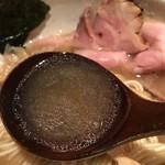 中華蕎麦 蘭鋳 - 【2017.7.28】旨味溢れる煮干しスープ。