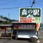 森の駅 - R48上愛子付近