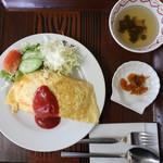 レストラン真珠 - オムライス