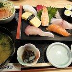 7213254 - まんぷく寿司定食 980円