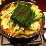 7213536 - もつ鍋(辛口味噌)
