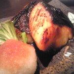 銀座 ぼくじん - 味噌が香ばしい西京焼き