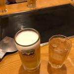 葵 - ドリンク写真:週末家族で乾杯!