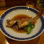 いな舟 - 料理写真:天口(メバル)の煮付
