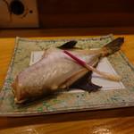 いな舟 - ウマヅラの味噌漬けの焼き物