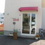 ベーカリールーチェ - お店入口。