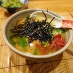 幸子のお茶漬 - 料理写真:鮭と梅のミックス