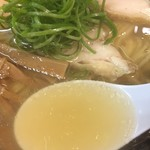 三谷製麺所 - 塩らーめん(700円)スープ