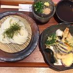 うどんや ぼの - 野菜天ぷら ざる  ¥1180
