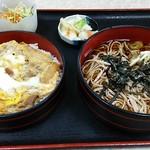 月見 大町店 - 料理写真:麺セット蕎麦。