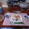 みはらし荘 - 料理写真:夕食セットアップ全景