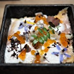 エッグ - 料理写真:琵琶マスのバラ寿司