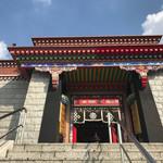 カフェ パルコル - お隣のチベット寺院