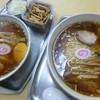 大勝軒 - 料理写真:'17/08/27 玉子入りワンタン麺(972円)&玉1個(756円)+メンマ(270円)ねぎ(108円)