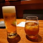 魚匠 銀平 - ☆生ビール&烏龍茶(^o^)丿☆