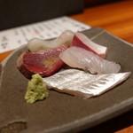 魚匠 銀平 - ☆肉厚の鰹&烏賊&太刀魚&カンパチ&鯛\(^o^)/☆