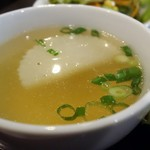ゴーカオマンガイ - スープ(カオマンガイ)