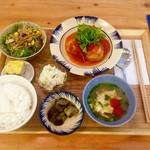 ノムカフェ - ベトナム定食A  ベトナムしゅうまい 1080円