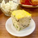 ノムカフェ - 五目玉子 春雨やキクラゲ、豚肉が入っていて食べ応えアリ^ ^