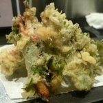 浜ふく - 小鰯のしそ巻き天ぷら