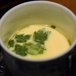 まるや本店 - 茶碗蒸し(名古屋コーチンの西京焼き御膳)