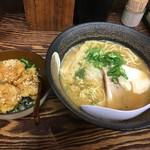 長田屋 - オマール海老そば&鶏天丼