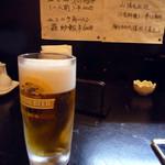 中華料理 合合 - 250円のビール!