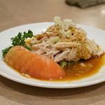 鳳仙花 - 料理写真:棒棒鶏