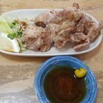 中華そばてんしん - 鶏のから揚げ