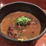 酒肴ゆぐち - 黒豚なんこつの角煮
